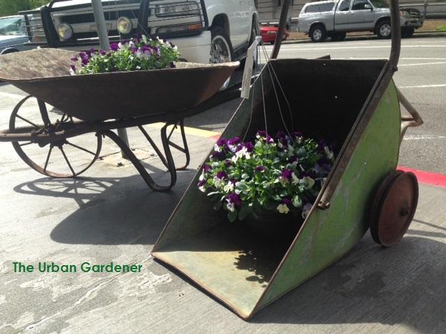 Vintage Garden Cart Season